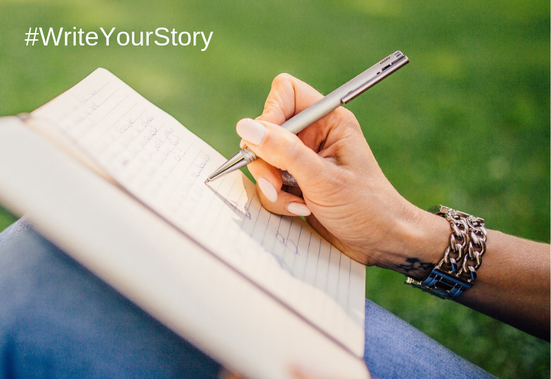 Write Your Story And Share A Piece Of Your Heart